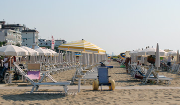 accesibility for the disabled in Jesolo